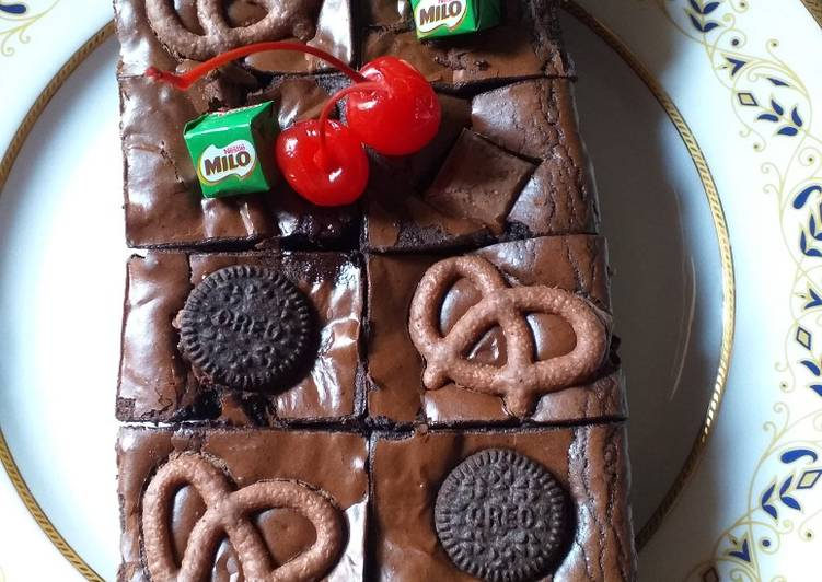 #14 Brownies Panggang Fudgy
