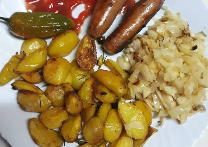 Grilled Potatoes #4wkschallenge#authormarathon#