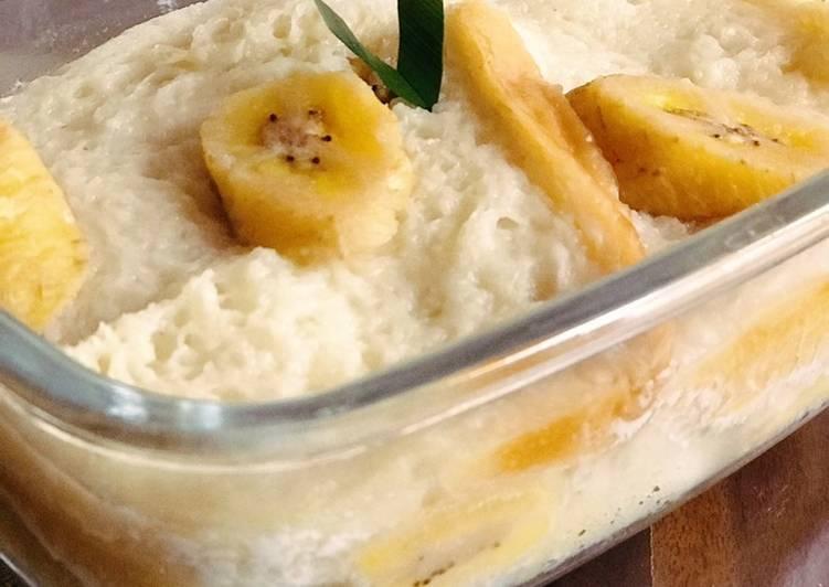 Bagaimana Mengolah Pis roti tawar dan pisang raja yang Sempurna