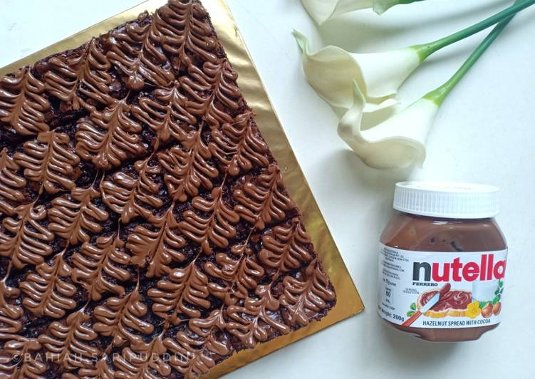 Brownies Nutella #SyedMunawwar