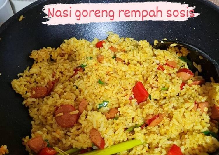 Nasi Goreng Rempah (Pakai Sosis)