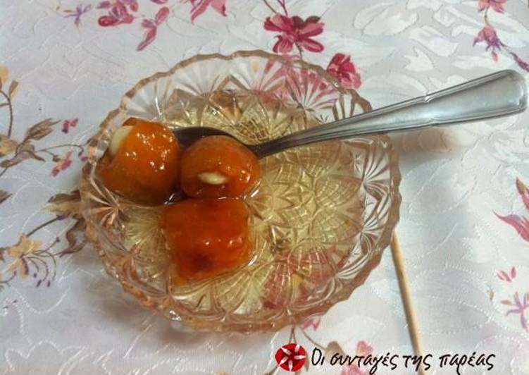 Loquat spoon sweet