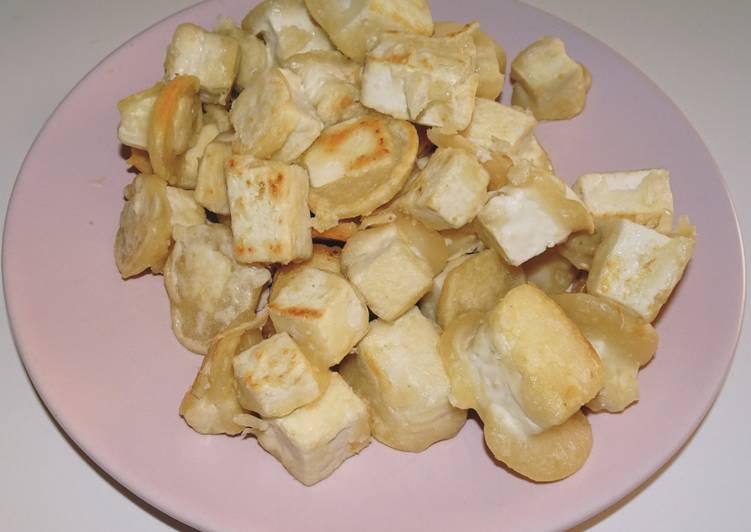 Tofu croustillant (vegan)