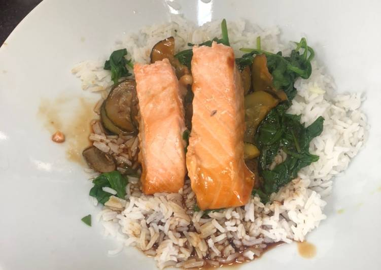Easiest Way to Make Award-winning Salmon Teriyaki