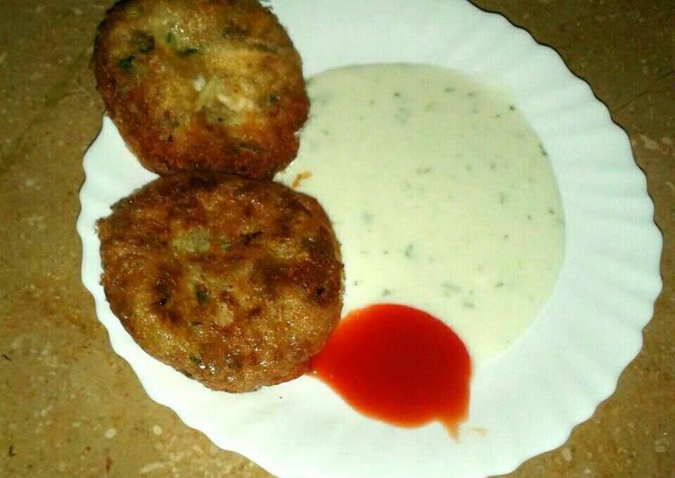 Potato Chicken Cutlet