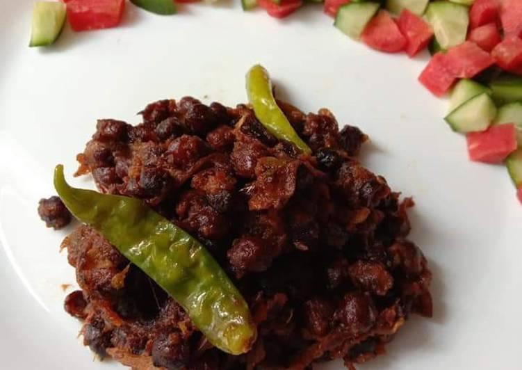 Simple Way to Make Award-winning Kale chano ka salan