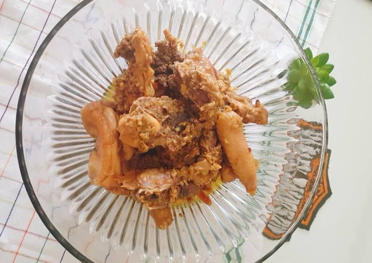 Resep Ayam betutu ayam kampung Yang Gampang Pasti Enak