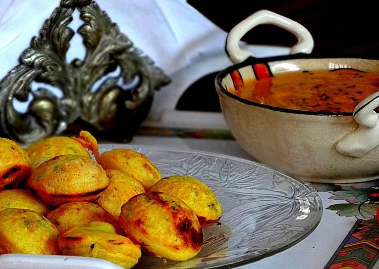 Recipe of Award-winning Paniyaram,appe, guntapunugulu or Spicy Dumplings