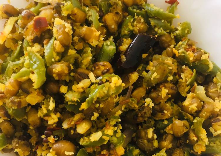 Simple Way to Make Top-Rated Thoran dal & beans
