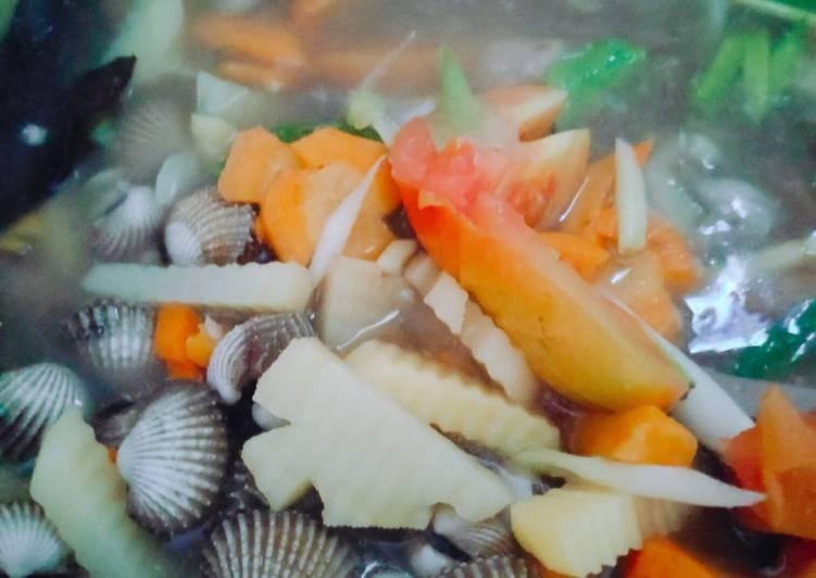 Sup kerang wortel kentang