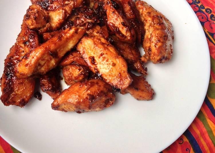 Sweet Garlic Chicken - A Paleo Recipe