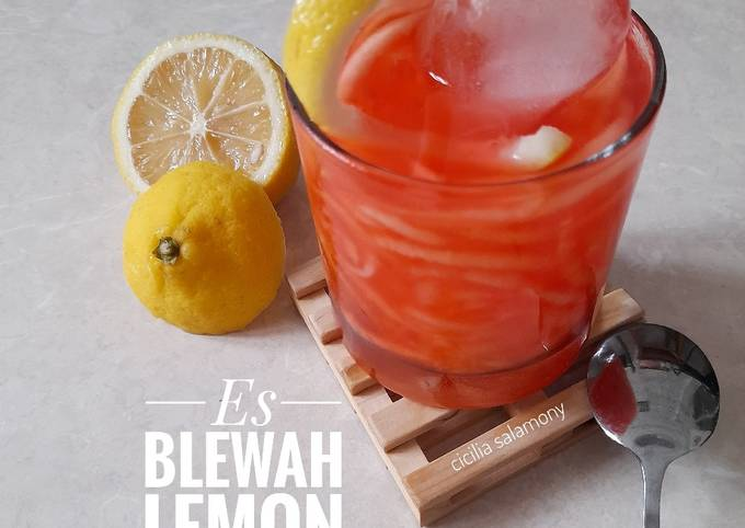 Resep Es Blewah Lemon Ala Desi Trisnawati MasterChef Indonesia