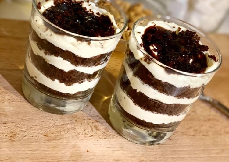 🍫Tiramisu saveur fondant au chocolat en seulement 30 minutes !