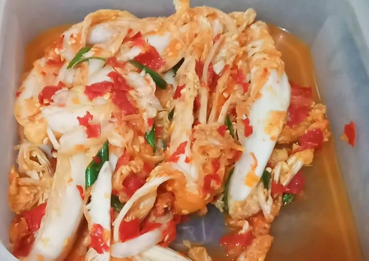 Resep Kimchi kekinian