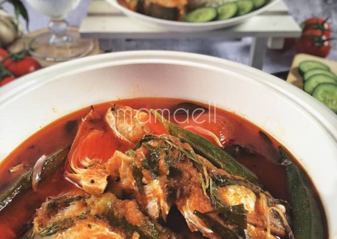 Asam Pedas Ikan Senangin