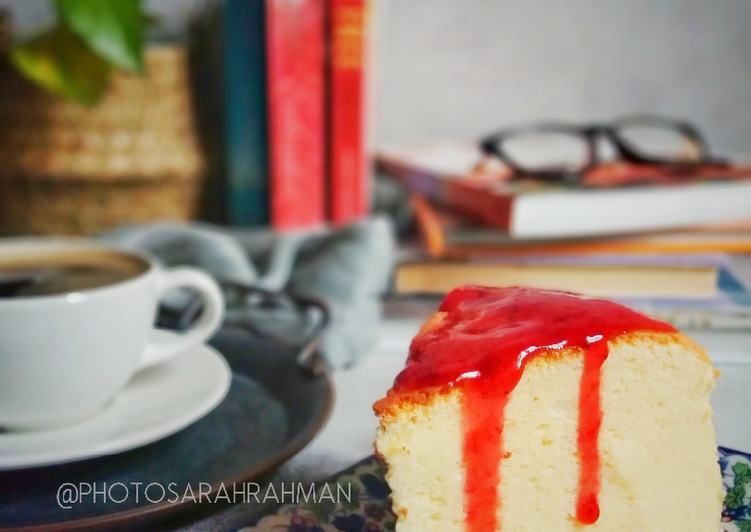 Fluffy Cotton Cheese Cake