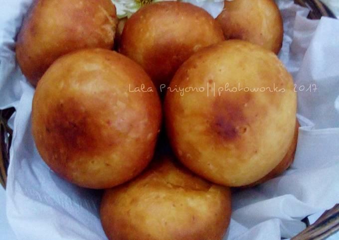 Resep Roti Goreng Isi Kacang Hijau Oleh Lala Priyono Cookpad