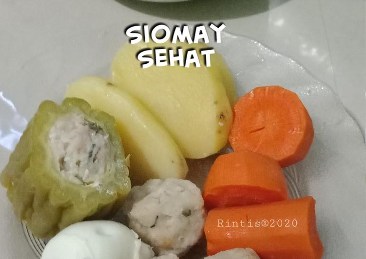 "Siomay Bandeng ""Kumbu Paria"" Sambel Pecel"