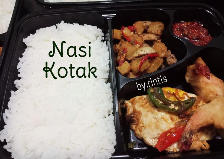 Nasi Lauk Kotakan