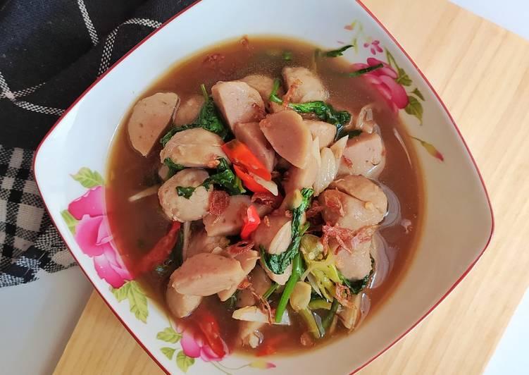 4. Ca Kangkung Baso