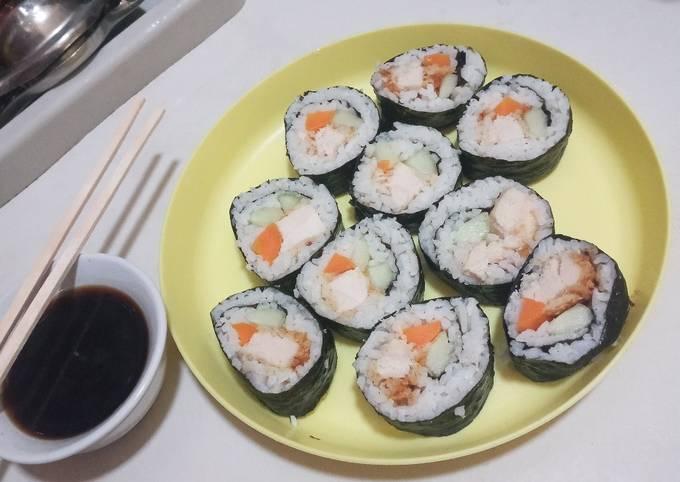 Chicken Katsu Sushi