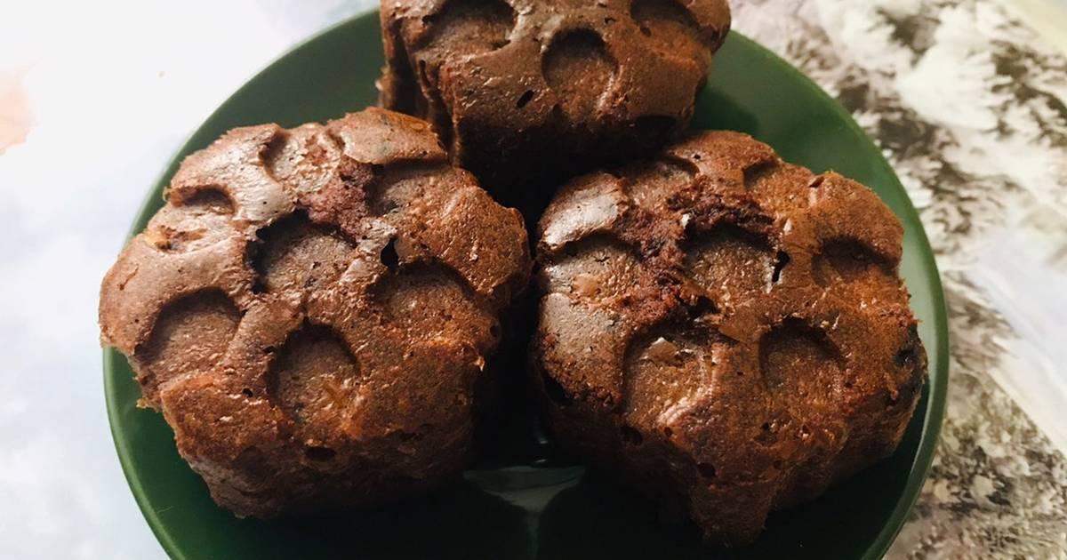 поставляется шоколадные кексы пп рецепт с фото пошагово изображения, можно