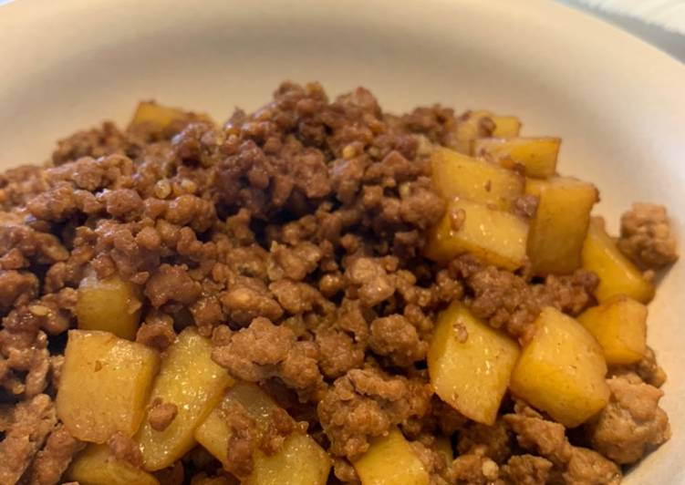 How to Prepare Perfect Chinese Style Mince Pork Potato