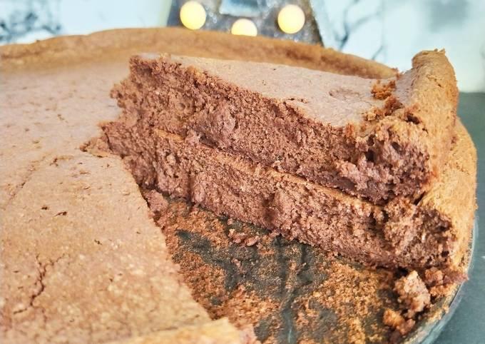Gâteau de mousse au chocolat cuit 😋