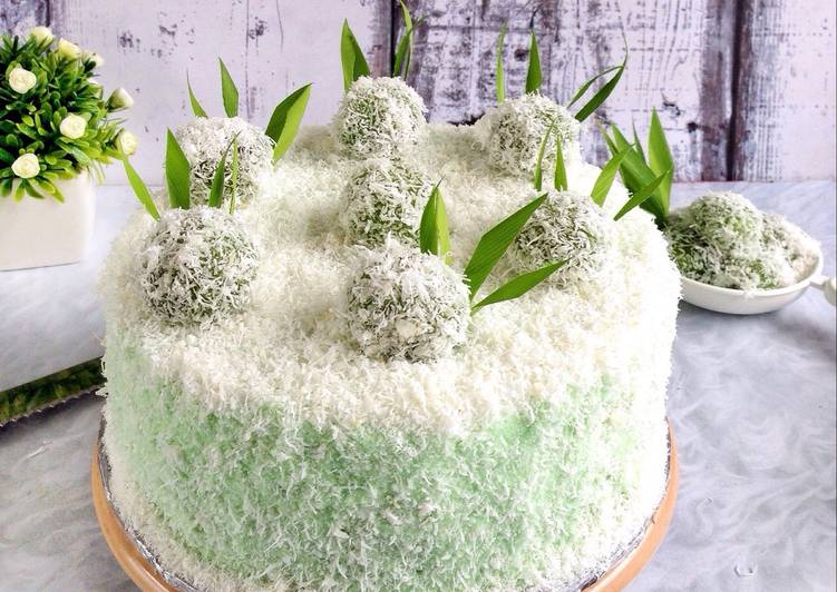 Klepon Cake / Ondeh Ondeh Cake