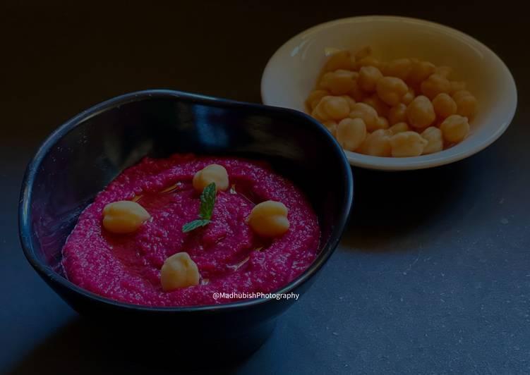 Recipe of Perfect Beetroot Hummus