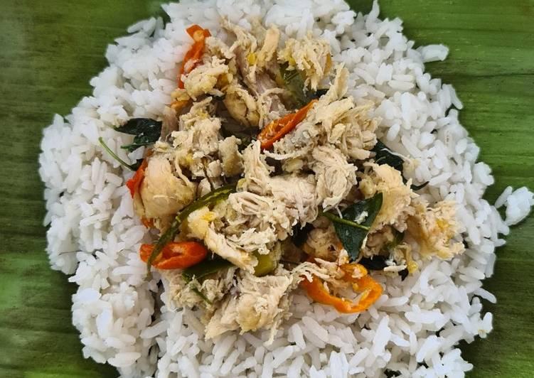 Nasi Bakar Ayam