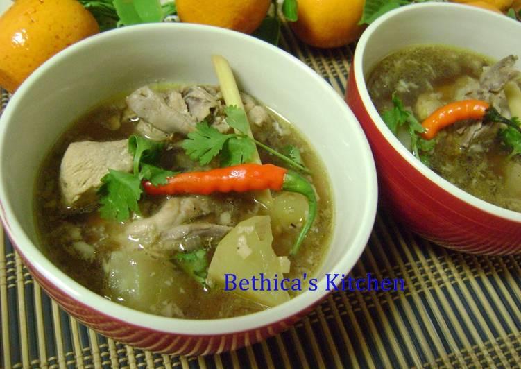 Easiest Way to Chicken Binakol - Filipino Soup