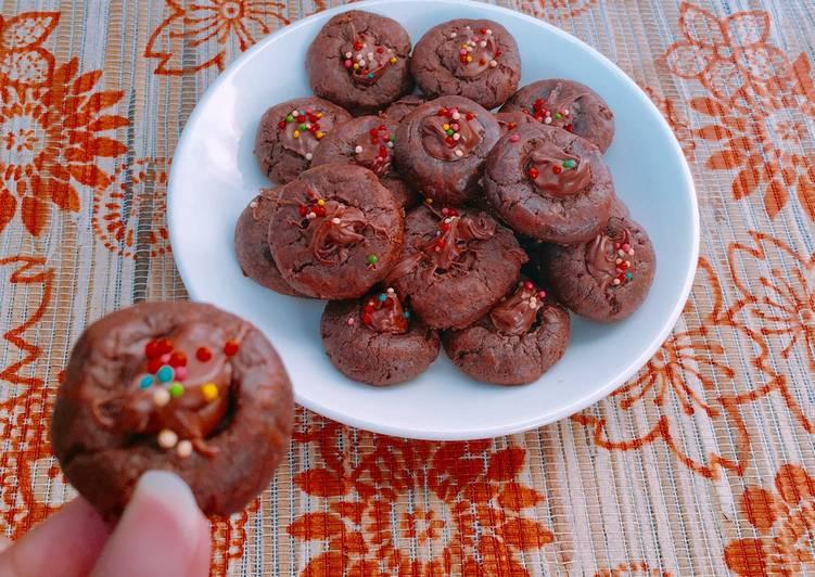 Nutella Choco Cookies / Kue Coklat Nutella