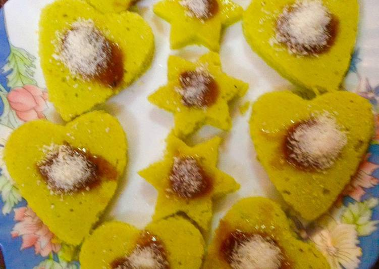 Recipe of Award-winning Heart dhokla