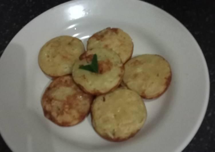 Roti pisang keju khas Banjar