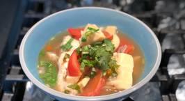 Hình ảnh món Canh chua cá catfish với măng và cà chua