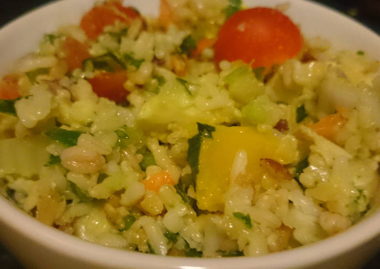 How to Make Perfect Five Grain Rice Salad