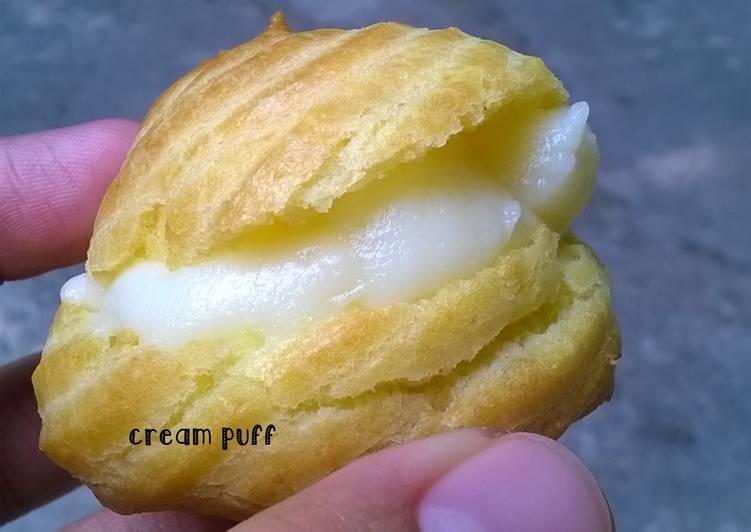 Soes / Cream Puff
