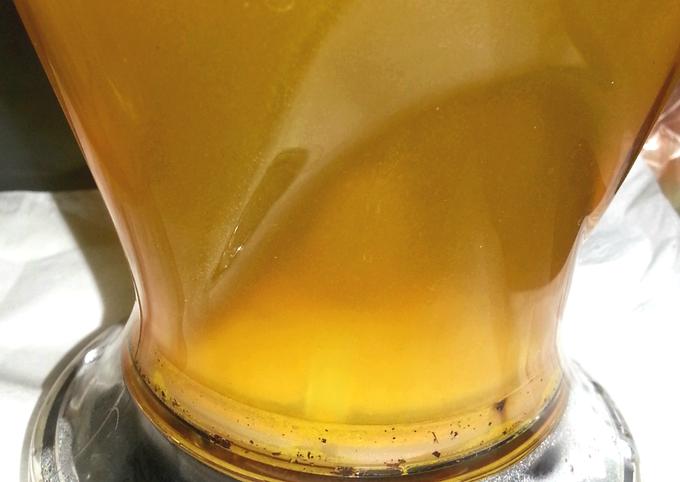 Ginger Tea (microwave method)