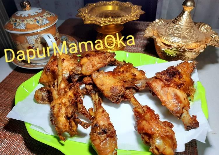 Ayam Goreng Presto bumbu blender