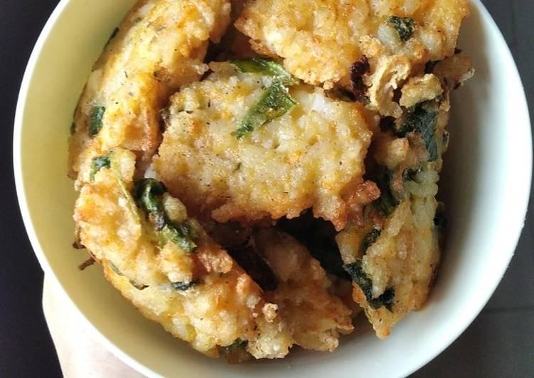 Bakwan Nasi Sayur