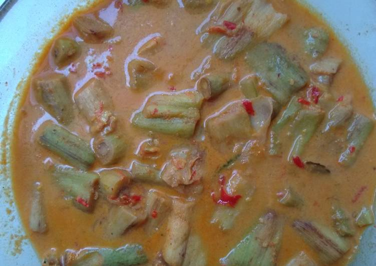 Sayur Lompong/Batang Daun Bentol