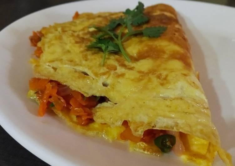 Stuffed omlette