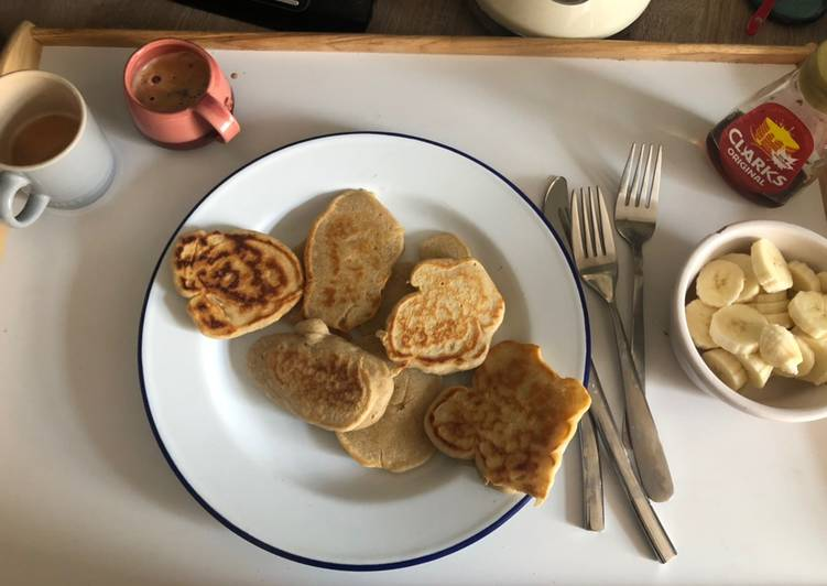 Recipe: Yummy Eggless pancakes