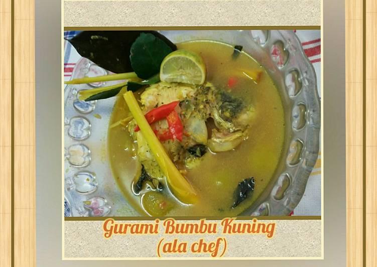 Gurami Bumbu Kuning (ala chef)