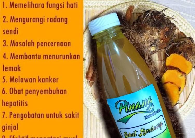 Resep Jamu Temulawak Jamu Sehat Lambung Oleh Dapur Mama Liya Cookpad