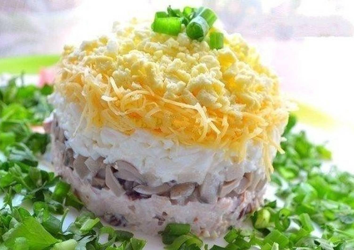 Салат белая ночь рецепт с фото пошагово родные