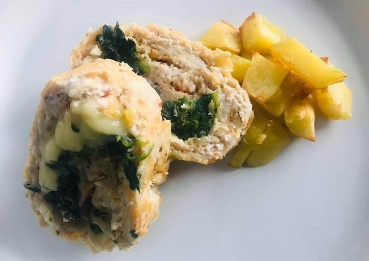 Polpettone ripieno con spinaci crudo e formaggio filante, Helping Your Heart with Food