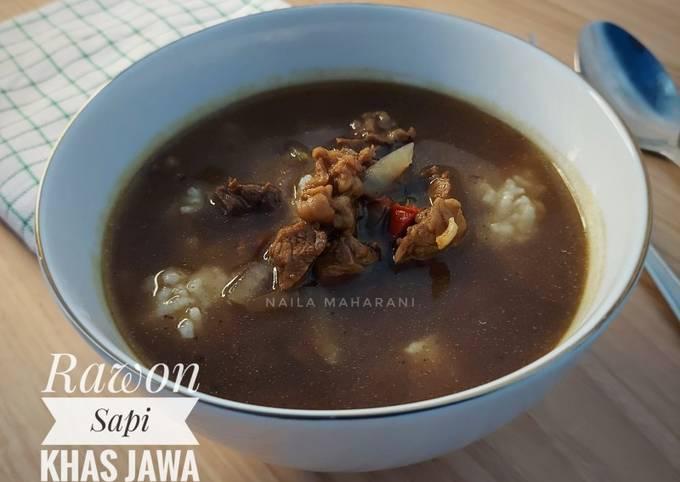 Rawon Sapi Khas Jawa Timur - projectfootsteps.org