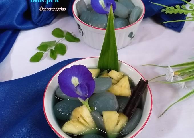 34.Manisan kolang kaling nanas bluepea